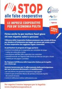 Stop alle false coop