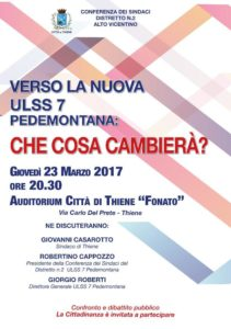 ULSS 7 COSA CAMBIA