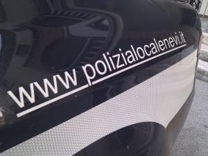 Auto POLIZIA NEVI